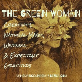 the green woman fairy, fairy, faeries, Brian Froud, Fairy art, Faery art, banshee, wild woman, nature, magic, growth,
