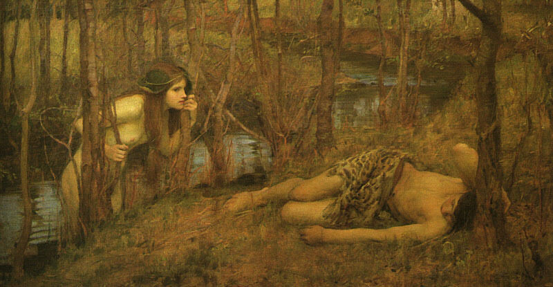 Hylas and the Nymphs Vehemence and Emergence Mythology
