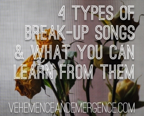 break-up, songs, lyrics, blog, learn, dead flowers, love, relationships, guidance